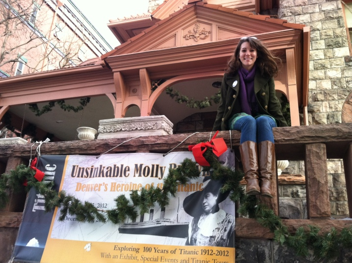 Kasey at Molly Brown House