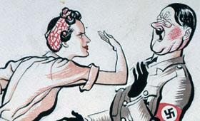 Rosie Slaps Hitler