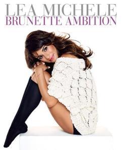 Lea-Michele-Brunette-Ambition-Book-Cover