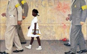Norman-Rockwell-The-Problem-We-All-Live-With-1964